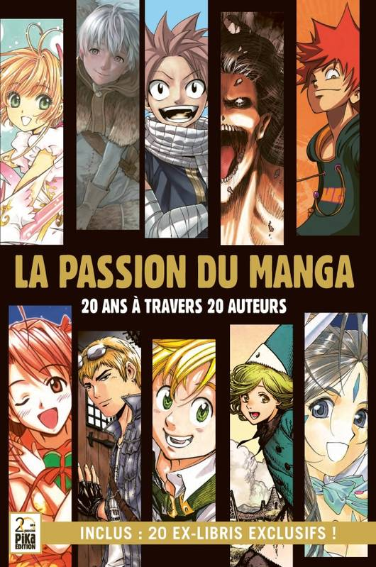 La passion du manga / 20 ans à travers 20 auteurs