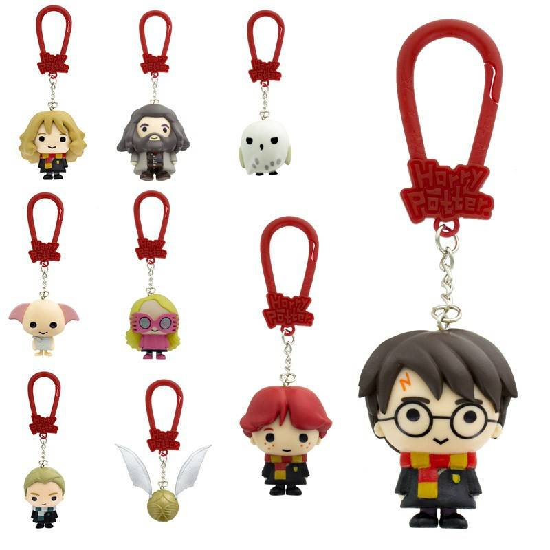 porte-clef figurines harry potter foil pack 5c*24