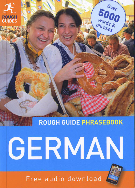 ROUGH GUIDE GERMAN PHRASEBOOK