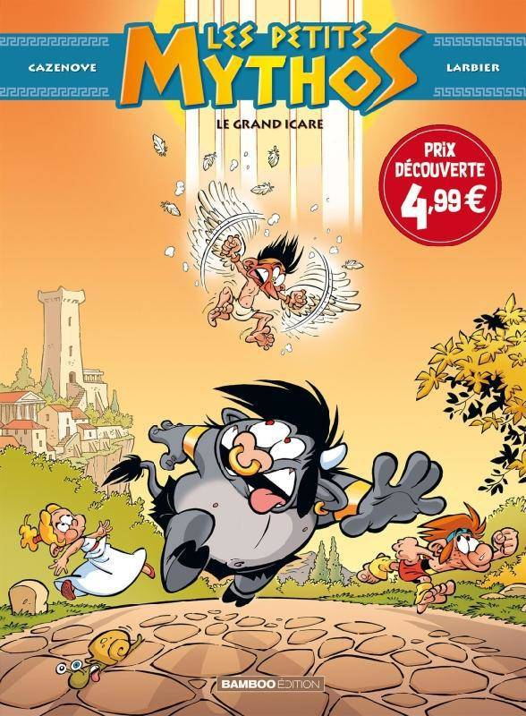 Les Petits Mythos - tome 02 - top humour 2021, Le Grand Icare