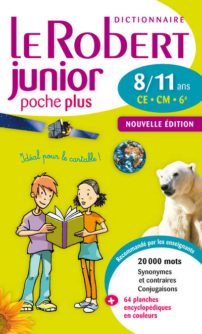 Dictionnaire Le Robert Junior Poche Plus
