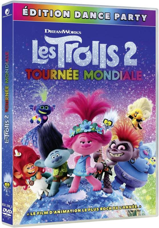 Les Trolls 2 - Tournée mondiale (Édition Dance Party) - DVD (2020)