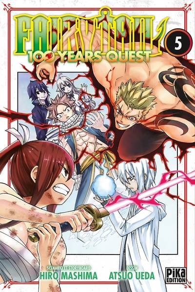 5, Fairy Tail, 100 years quest