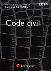 Code civil 2014 / croco noir