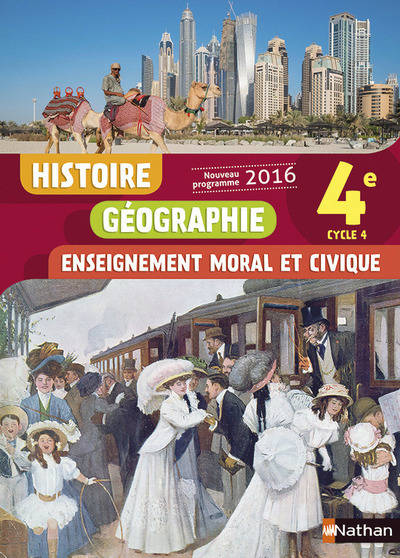 Livre Histoire Geographie Emc 4e Collectif Nathan