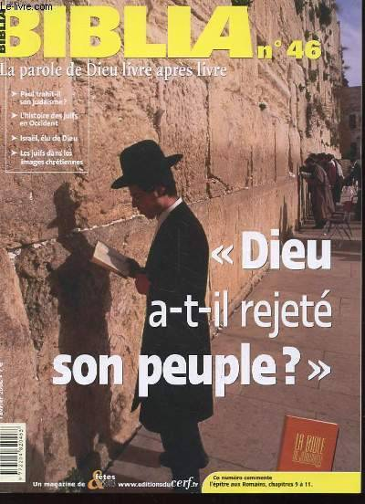 Dieu a-t-il rejeté son peuple ?