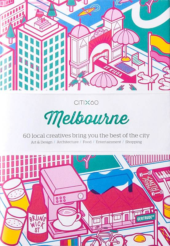 CITI X60 MELBOURNE (NEW EDITION) /ANGLAIS