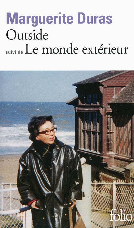 livre outside le monde ext rieur marguerite duras folio