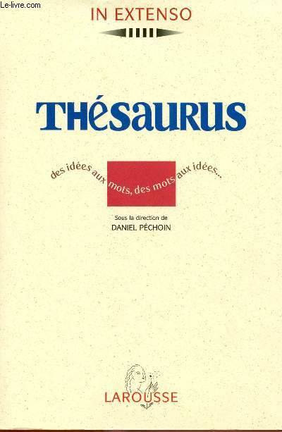 Thesaurus In Extenso