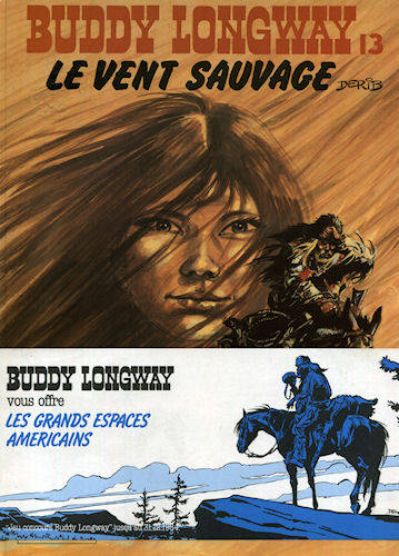 13, Buddy Longway. 13. Le vent sauvage