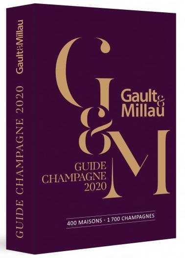 Guide Gault & Millau Champagne 2020, 400 maisons, 1700 champagnes