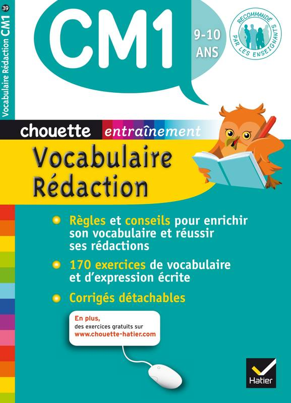 Vocabulaire-Rédaction CM1