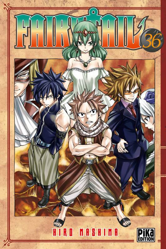 36, Fairy Tail Tome XXXVI