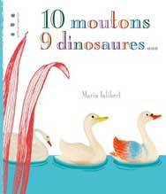10 moutons, 9 dinosaures