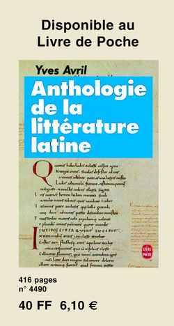 Rencontre traduction latin
