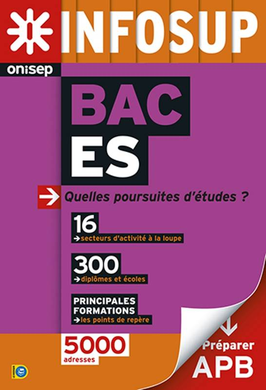 livre apr s le bac es collectif onisep office national d 39 information sur les m tiers et. Black Bedroom Furniture Sets. Home Design Ideas