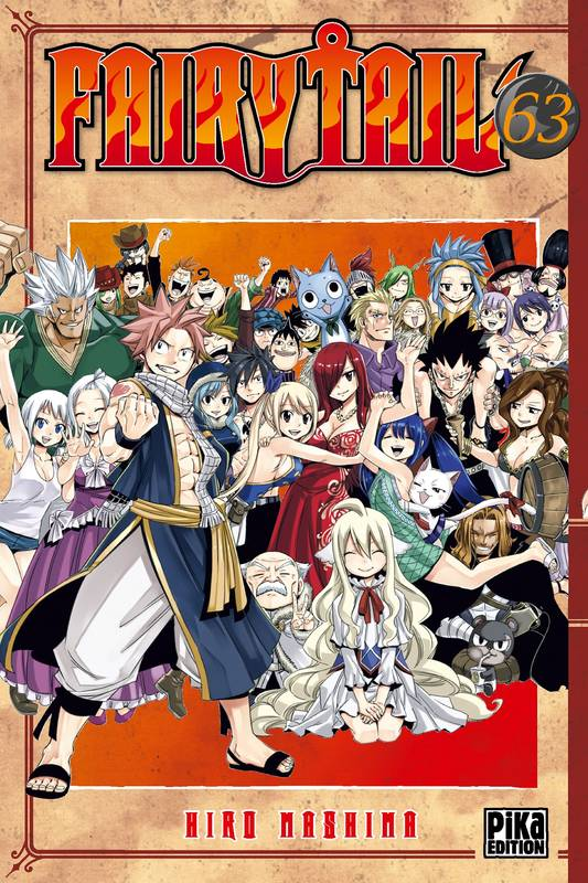 63, Fairy Tail T63