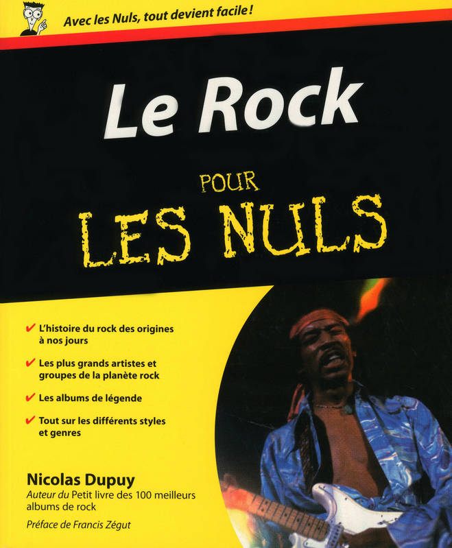 ebook le rock pour les nuls nicolas dupuy first pour les nuls gf 2960022239148 librairie. Black Bedroom Furniture Sets. Home Design Ideas