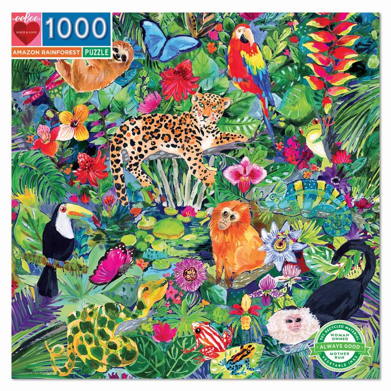 Puzzle - Amazon Rainforest - 1000 pièces