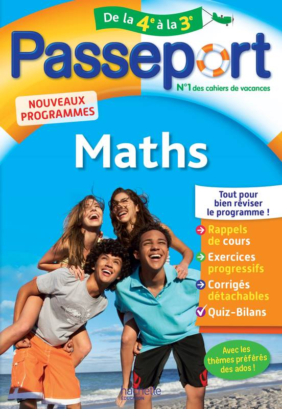 Passeport - Maths de la 4e à la 3e
