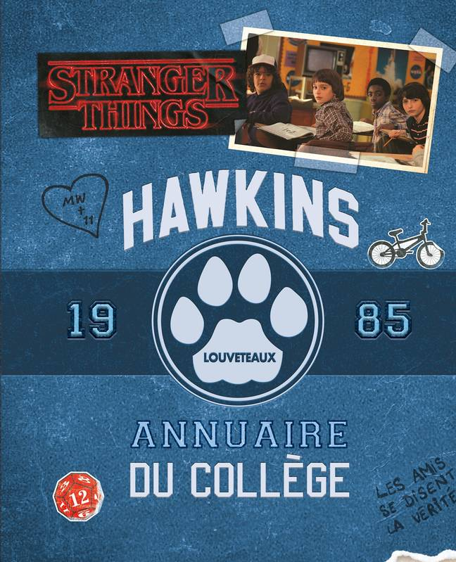 Stranger Things, Annuaire Hawkins 1985