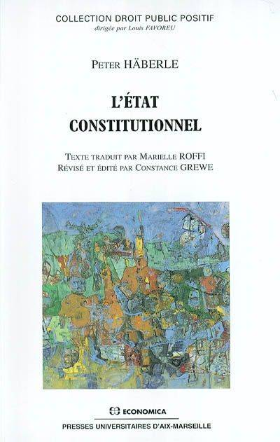 L'  ETAT CONSTITUTIONNEL