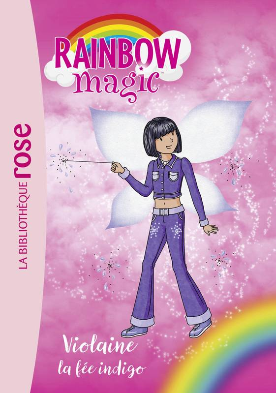 Rainbow Magic 06 - Violaine, la fée indigo