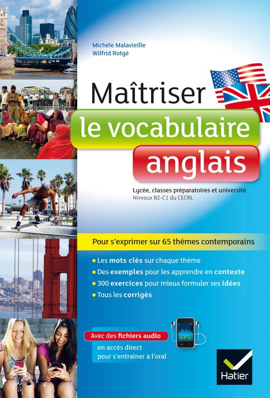 livre ma triser le vocabulaire anglais lyc e classes pr pas et universit wilfrid rotg. Black Bedroom Furniture Sets. Home Design Ideas