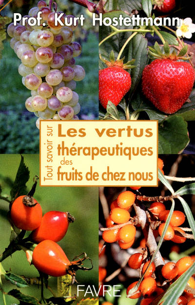 livre tout savoir sur les vertus th rapeutiques des fruits de chez nous kurt hostettmann. Black Bedroom Furniture Sets. Home Design Ideas
