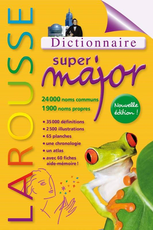 LAROUSSE SUPER MAJOR MAGHREB NE 2012