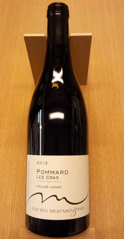 pommard les cras vieilles vignes 2013 vin rouge pinot noir bourgogne c te de beaune muzard. Black Bedroom Furniture Sets. Home Design Ideas