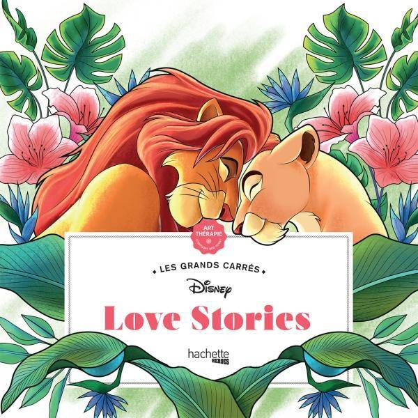 Les grands carrés Disney Love stories