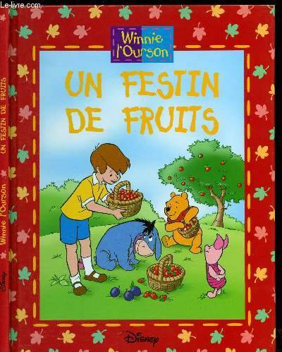 Livre Winnie L Ourson Un Festin De Fruits Walt Disney