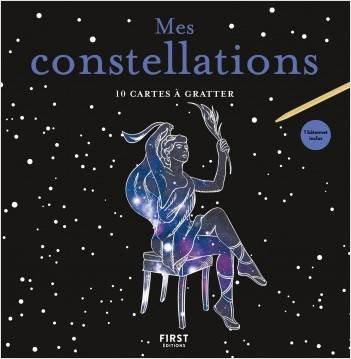 10 CARTES A GRATTER MES CONSTELLATIONS