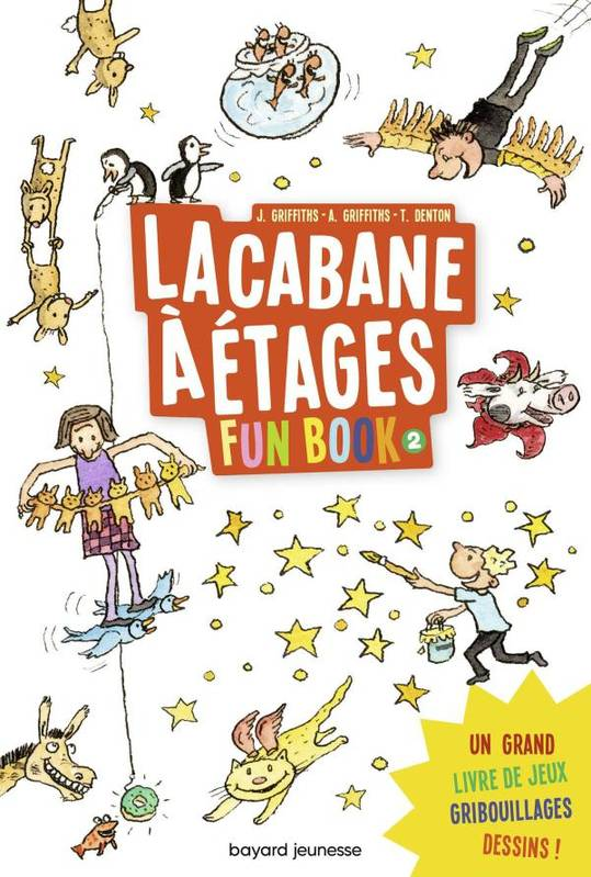2, Fun Book, Tome 02, La cabane à étages le Fun Book 2