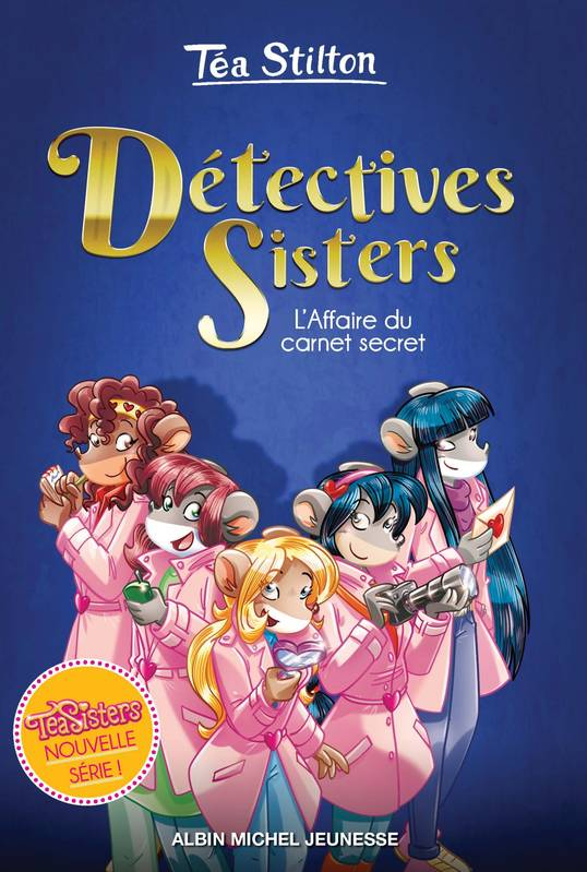 L'Affaire du carnet secret - tome 1, Détectives Sisters - tome 1