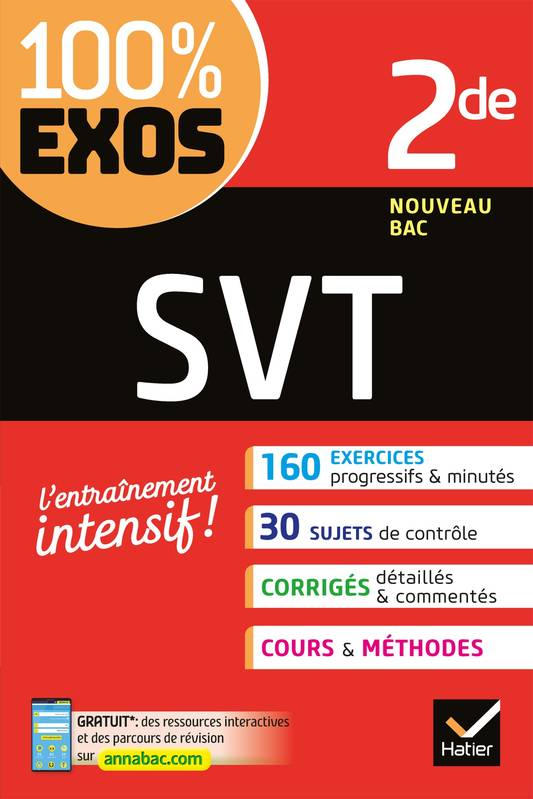 SVT 2de, Exercices résolus - Seconde