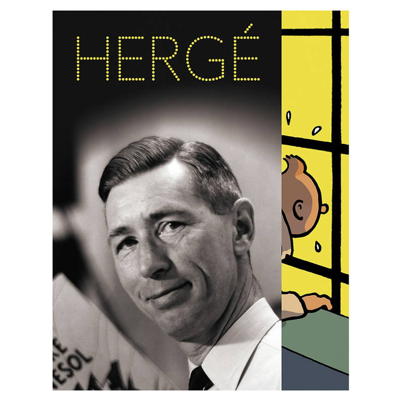 HERGE - CATALOGUE de l'exposition