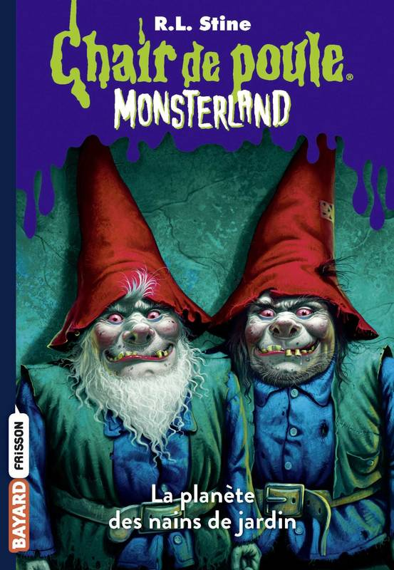 Monsterland, Tome 01, L'invasion des nains de jardin