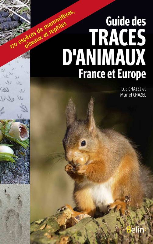 Guide des traces d'animaux / France et Europe