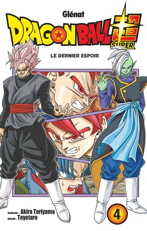 4, Dragon ball super