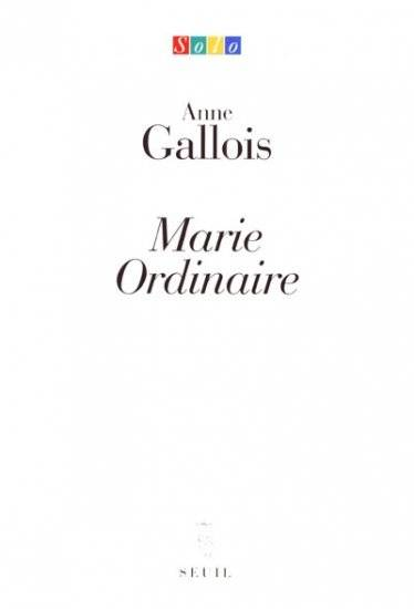 Marie Ordinaire