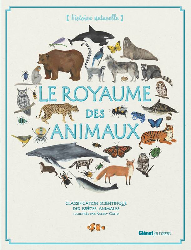 Le Royaume des animaux, Classification scientifique des espèces animales