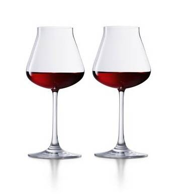 coffret de deux verres vin rouge ch teau baccarat cristal baccarat athenaeum de la vigne. Black Bedroom Furniture Sets. Home Design Ideas