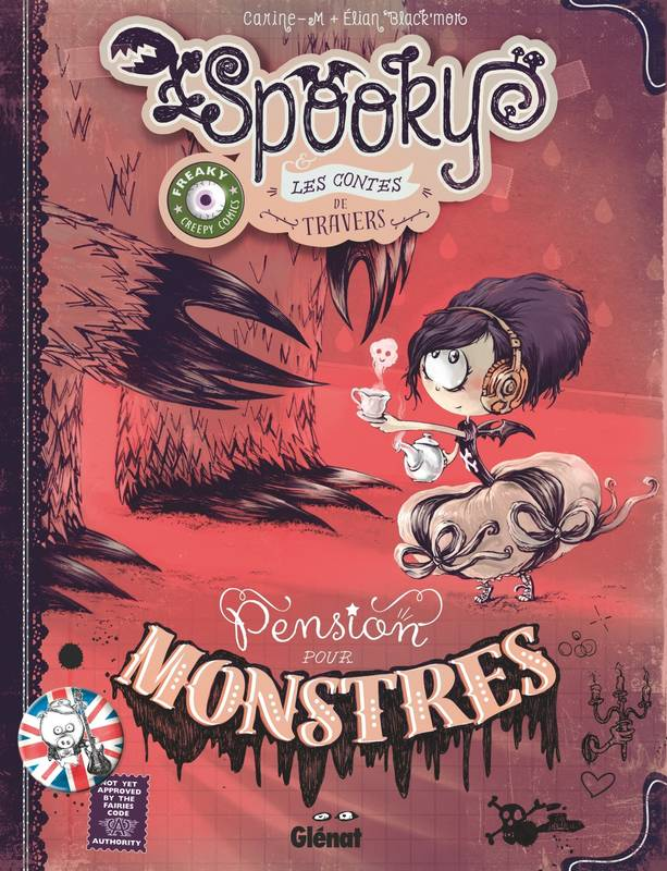 Spooky & les contes de travers - Tome 01 Version collector, Pension pour monstres