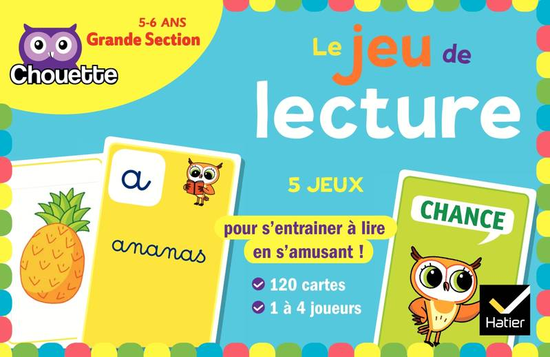 Le jeu de lecture / grande section, 5-6 ans : 120 cartes