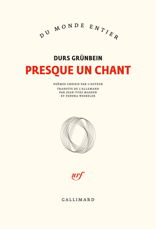 Presque un chant, Anthologie