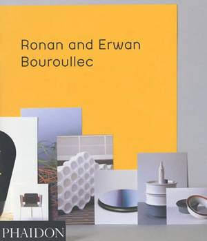 livre ronan et erwan bouroullec bourounec capel phaidon. Black Bedroom Furniture Sets. Home Design Ideas