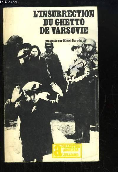 L'insurrection du Ghetto de Varsovie