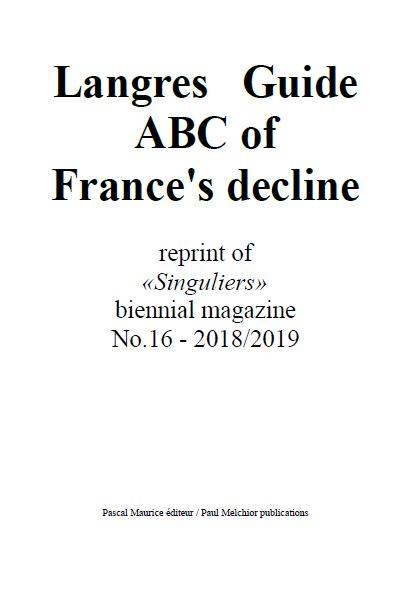 Langres Guide (English), ABC of France's decline